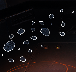 Cockpit Hologram 2, Asteroid Belts
