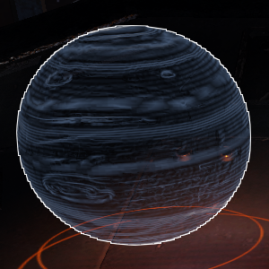 Cockpit Hologram 7, Gas Giants